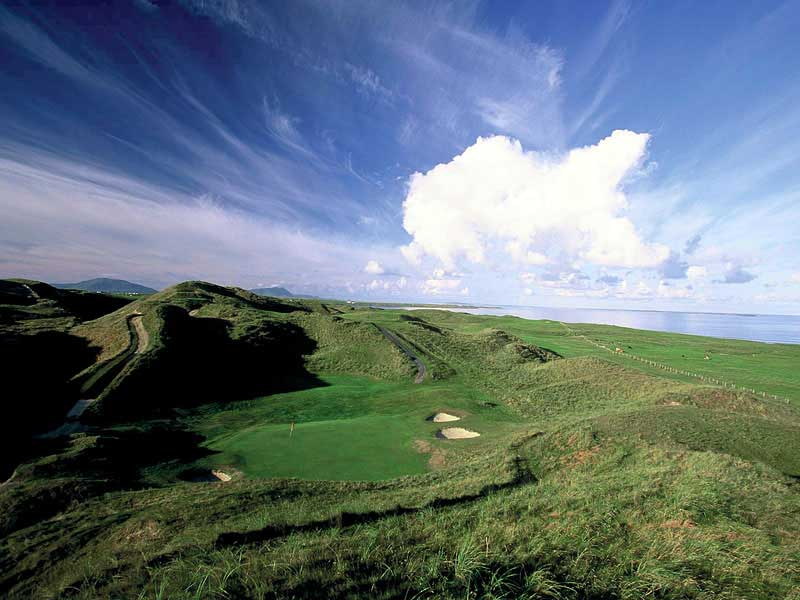 Play great golf at Carne Golf Links in Mayo, Ireland