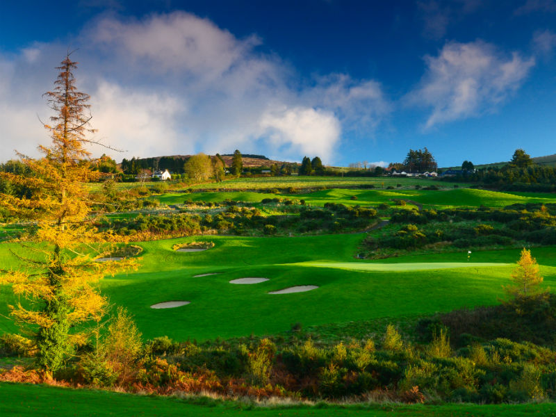 Spring is in the air at Macreddin Golf Club in Wicklow, Ireland