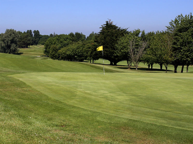 First day of Autumn but there is still time to play golf at Ardee Golf Club in County Louth, Ireland