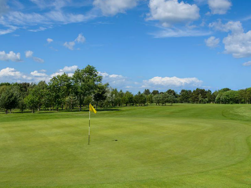 Sun is out for most of us, so dust your clubs and play Blyth Golf Club in Northumberland