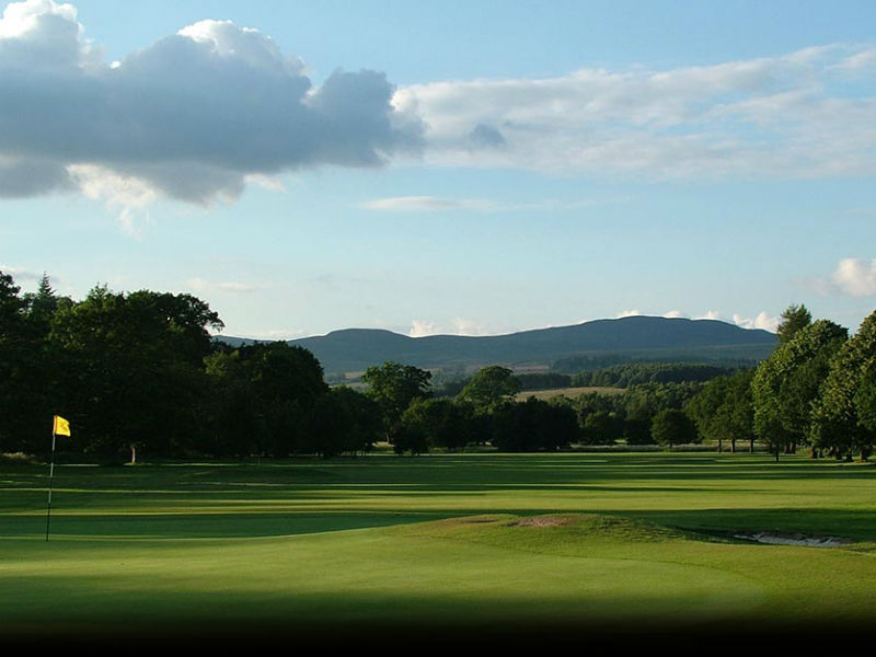 What a great bank holiday Monday! Play golf at Buchanan Castle Golf Club in Dunbartonshire, Scotland
