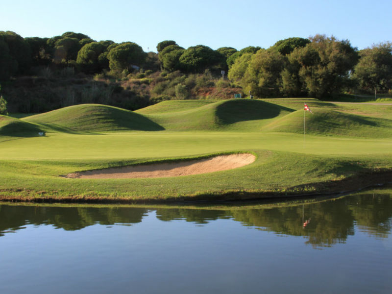 Play golf in the sun at Cabopino Golf Marbella in Malaga, Spain