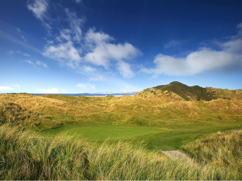What a great way to start the week with a game of golf at Castlerock Golf Club in Co Londonderry