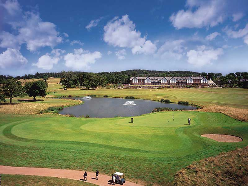 Experience the great game of golf at Carden Park Hotel Golf Resort & Spa in Cheshire, England