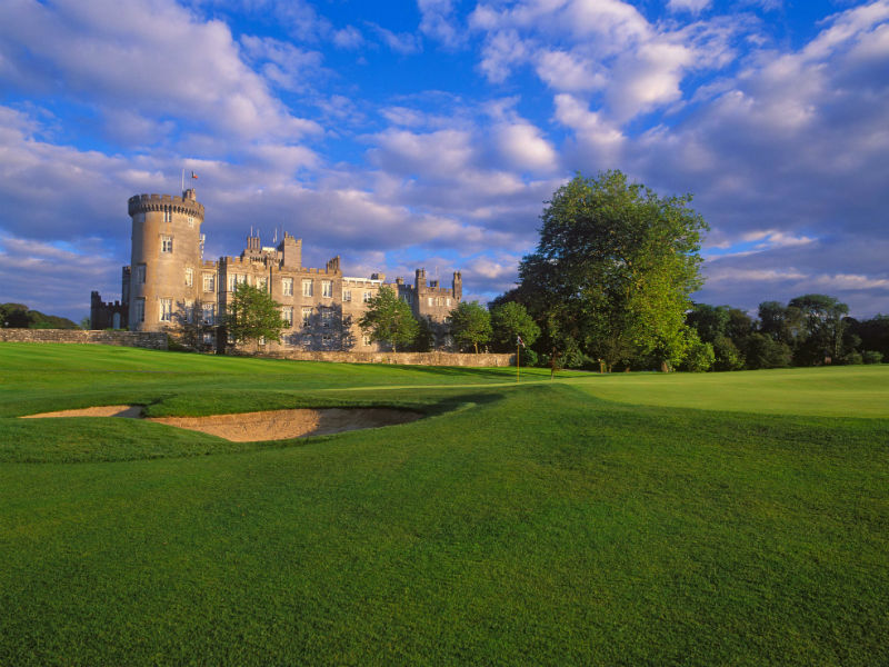 Golf in a Uniquely Irish Setting at Dromoland Castle Golf & Country Club in Clare, Ireland