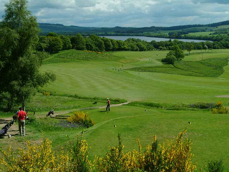 Dunkeld & Birnam Golf Club, a beautiful course to play this year with Open Fairways
