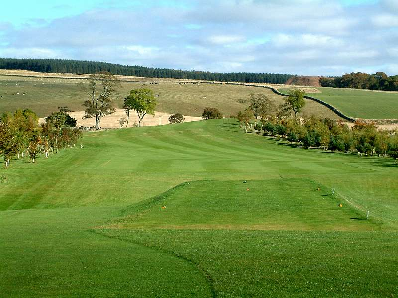 Great venues available through Open Fairways such as Duns Golf Club in Berwickshire, Scotland