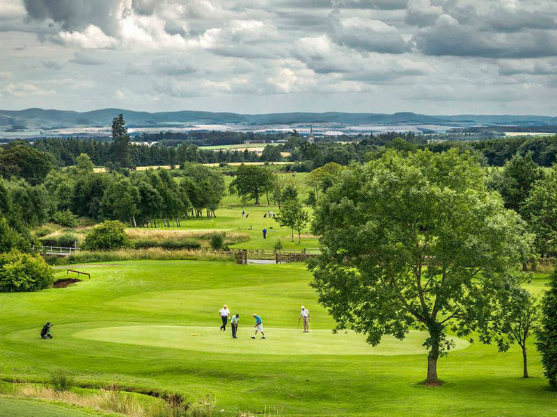 Duns Golf Club, Scotland. Discover the beauty of the Borders