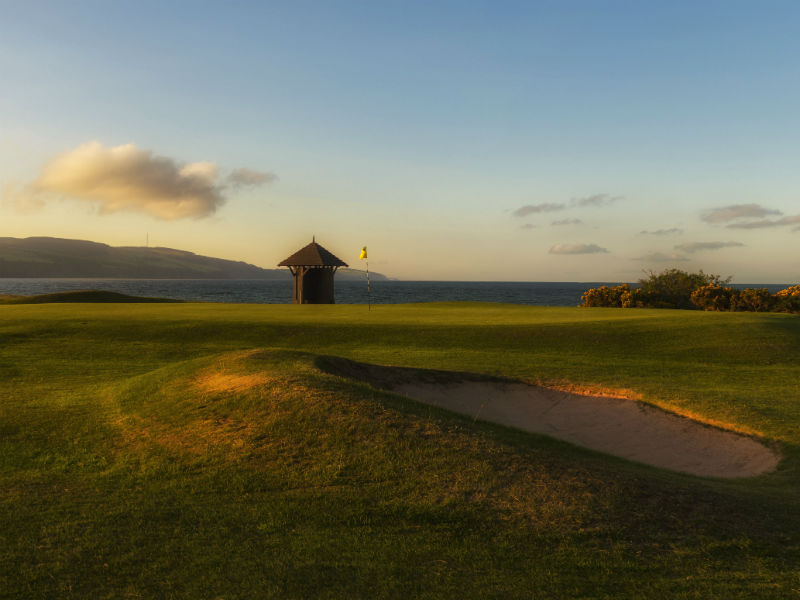 Why not play one of the finest links golf courses in Scotland Fortrose & Rosemarkie Golf Club