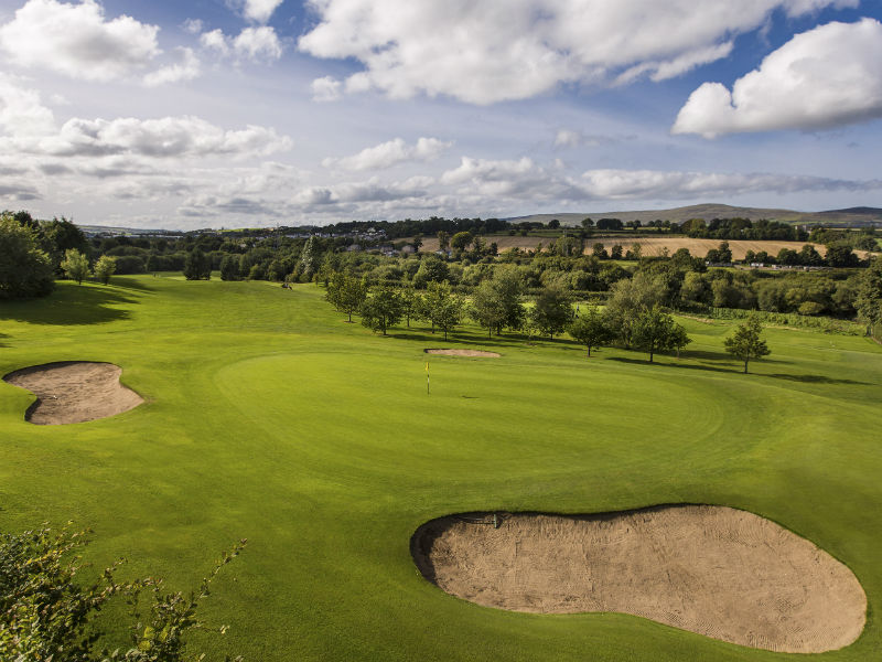 Enjoy an Autumn game of golf at Foyle Golf Centre in Londonderry, Northern Ireland