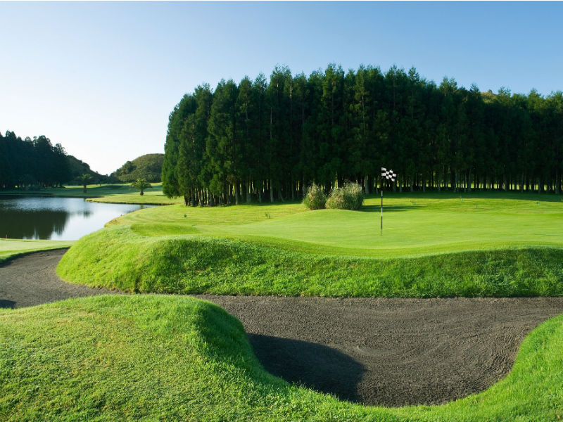 Check out Azores in Portugal and play golf  at the beautiful Furnas Golf Course, Sao Miguel