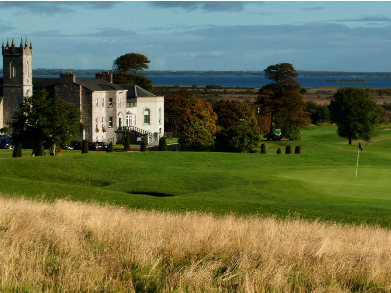Great choice of venues available through Open Fairways such as Glenlo Abbey Golf Course in Galway