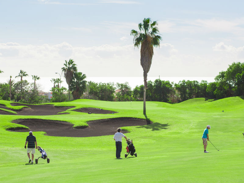 Heading for some Winter Sun this Christmas in Tenerife then play golf at the lovely Golf De Sur