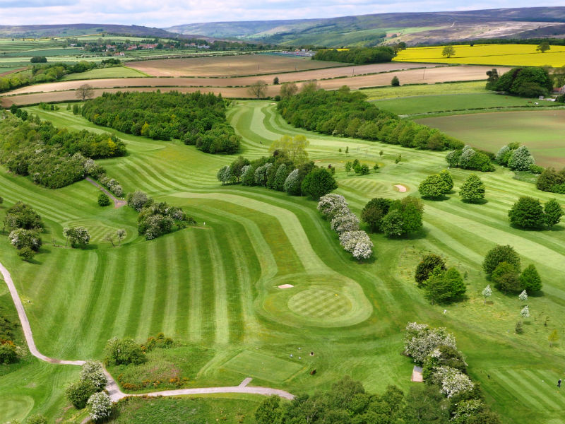 Spring golf is on the cards!! Play at the lovely Kirkbymoorside Golf Club in N.Yorkshire, England