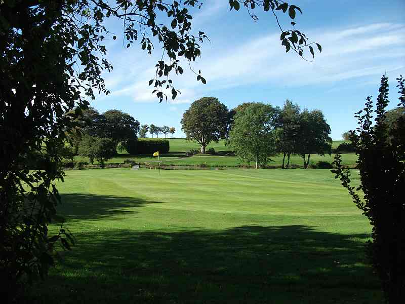 Lockerbie Golf Club in Dumfriesshire is a beautiful course to play with Open Fairways