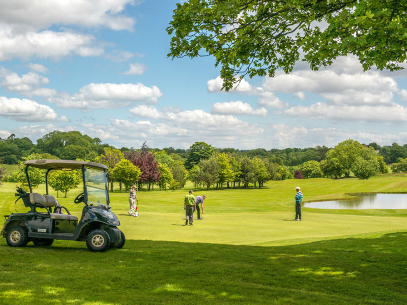 Tee off this week at Cottrell Park Golf Resort in Cardiff, Wales