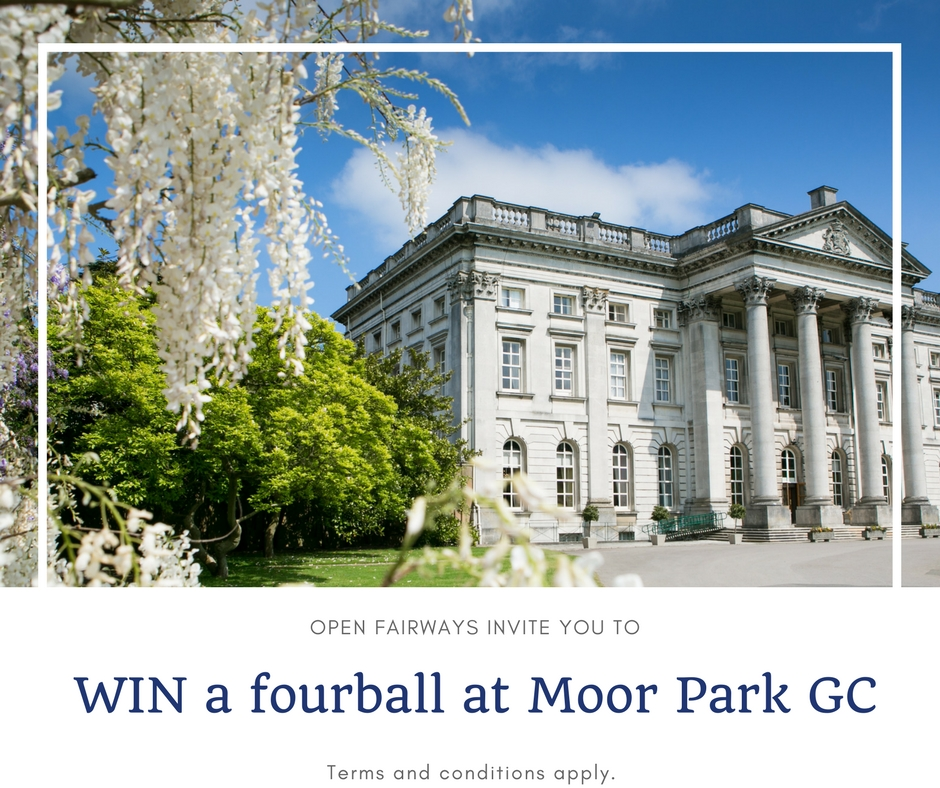 WIN a complimentary fourball at Moor Park GC