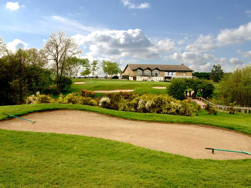 They promise a great game of golf at Moor Allerton Golf Club in West Yorkshire, England