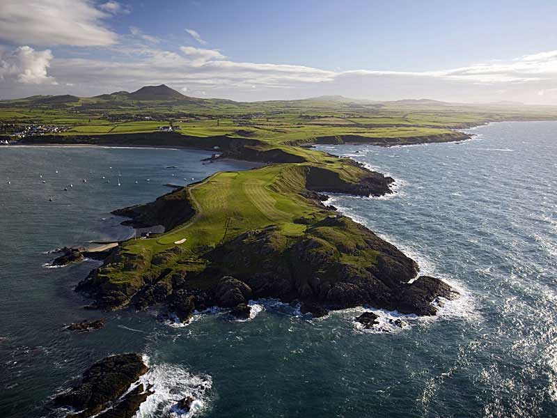 Play a game of golf at the lovely Nefyn & District Golf Club in Gwynedd, Wales