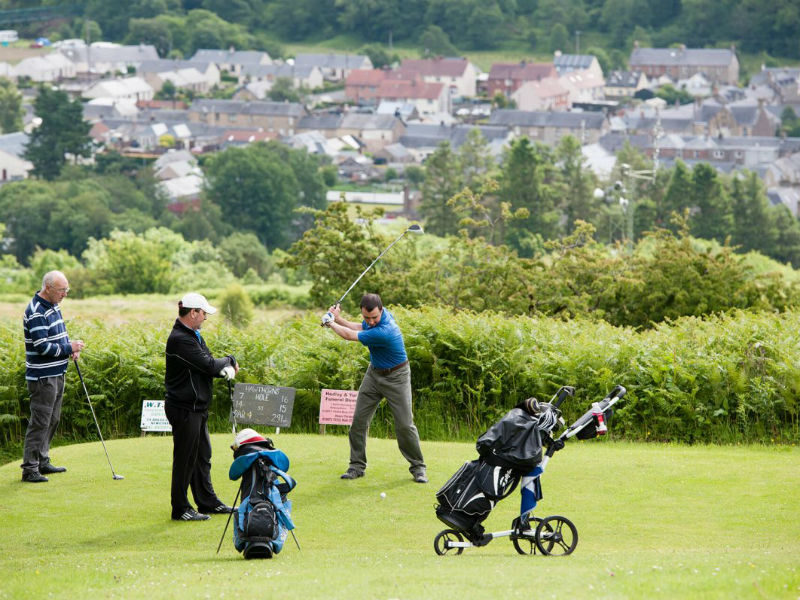 What better way to enjoy the Lothian Borders but with golf at Newcastleton GC in Peebleshire