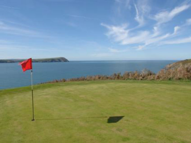 Test your game of golf at Newport Links Golf Club in Pembrokeshire, Wales