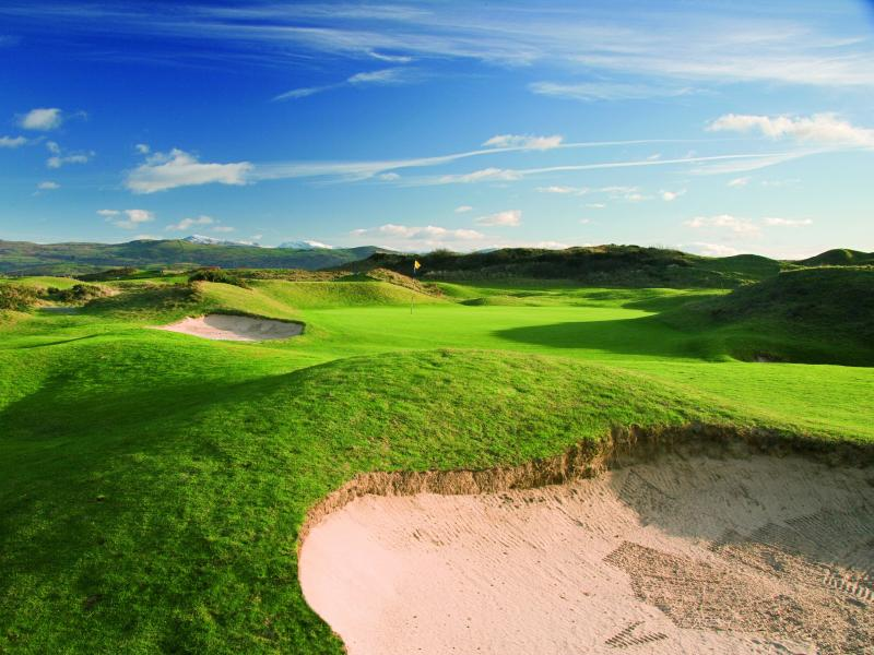 Spring into Golf at the lovely Porthmadog Golf Club in Gwynedd, Wales