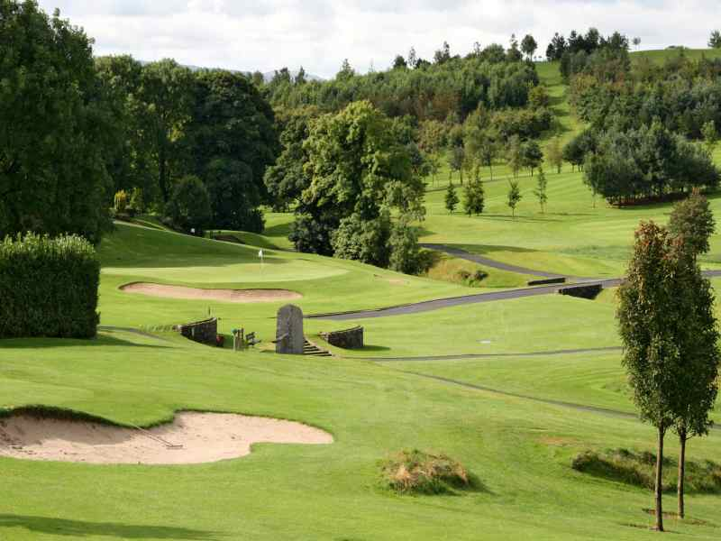 Happy Friday at Rockmount Golf Club in County Down, Northern Ireland
