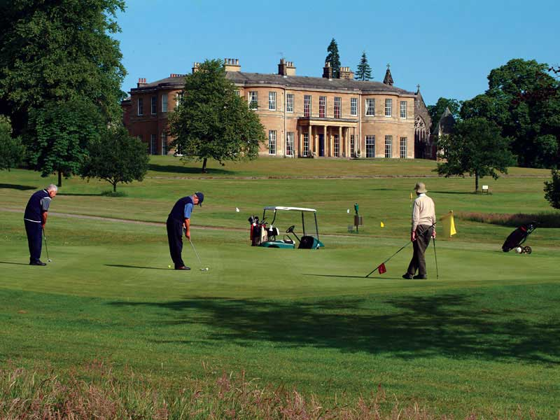 This weekend sunshine is forecasted so go play golf at Rudding Park Golf Club in North Yorkshire