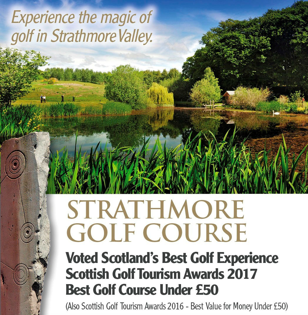 Strathmore Golf Centre in Perthshire has been Voted Scotland