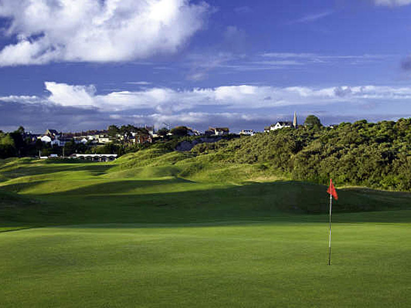 Check out your golf skills at Tenby Golf Club in Pembrokeshire, Wales