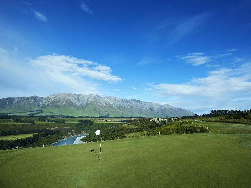 Play Golf in New Zealand at this fabulous course Terrace Downs Resort, Canterbury
