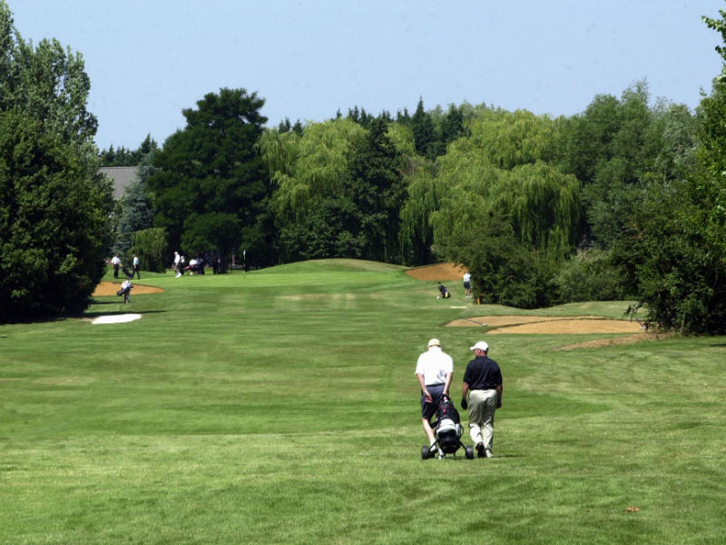 Life is better on the golf course! So play some golf at The Cambridgeshire Golf Club (Hallmark)