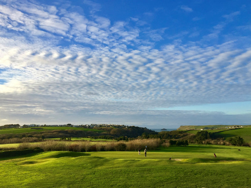The Point at Polzeath in Cornwall open all year for a great round of golf