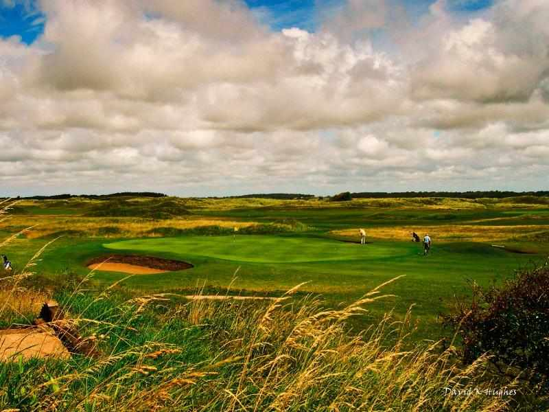 A cracking time for golf at The West Lancashire Golf Club in Merseyside, England