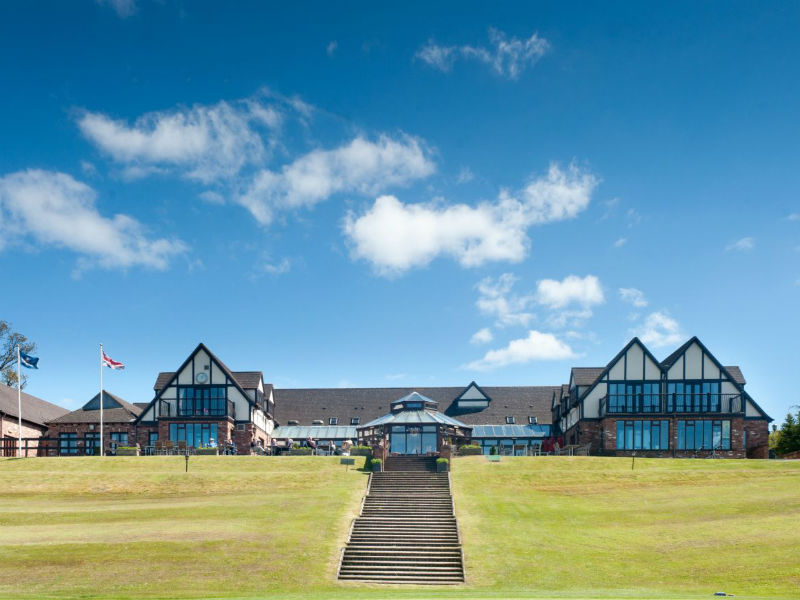 Enjoy the sunshine and play golf at the Woodbury Park Golf & Country Club in Devon