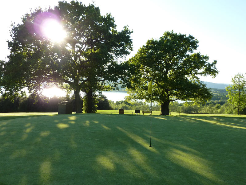 Golf season has certainly begun at Woodlake Park Golf & Country Club in Monmouthshire, Wales